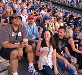BradsDeals enjoys a baseball game thanks to Groupon