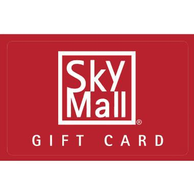 Win one of five $100 SkyMall Gift Cards!