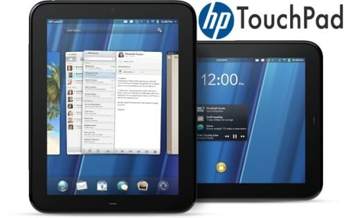 HP TouchPad Giveaway