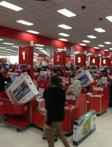 Target Deals on Black Friday