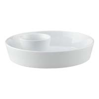 Crate & Barrel Chip and Dip Bowl
