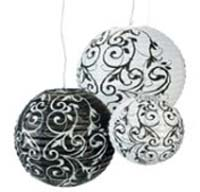 Black & White Lanterns