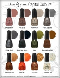 The Hunger Games Nail Polish Collection