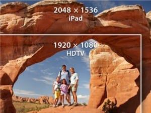 iPad HD Retina Display