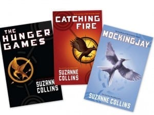 The Hunger Games Book Trio