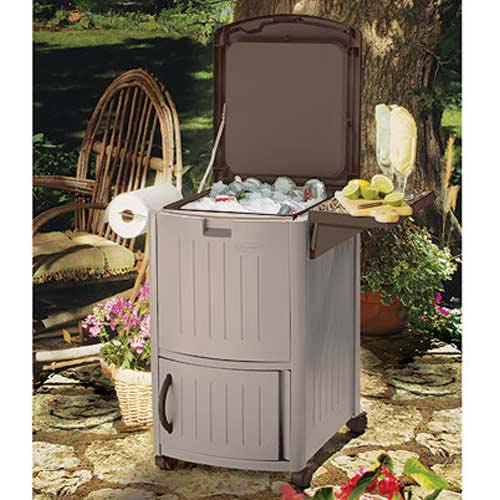 Get Organized Patio Cooler