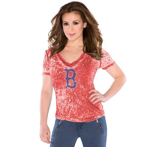 Boston Red Sox Women's Burnout Tee