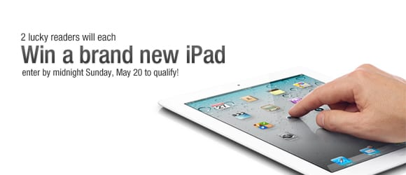 Enter to WIN a new iPad!