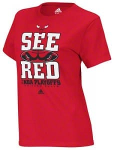 Chicago Bulls See Red Shirt