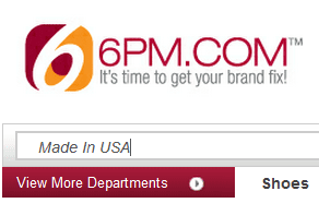 6pm search for american-made products