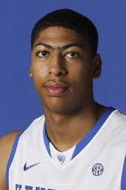 Anthony Davis and his famous unibrow