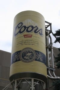 Coors Brewery in Denver