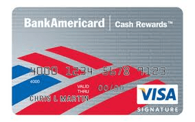 cash rewards visa