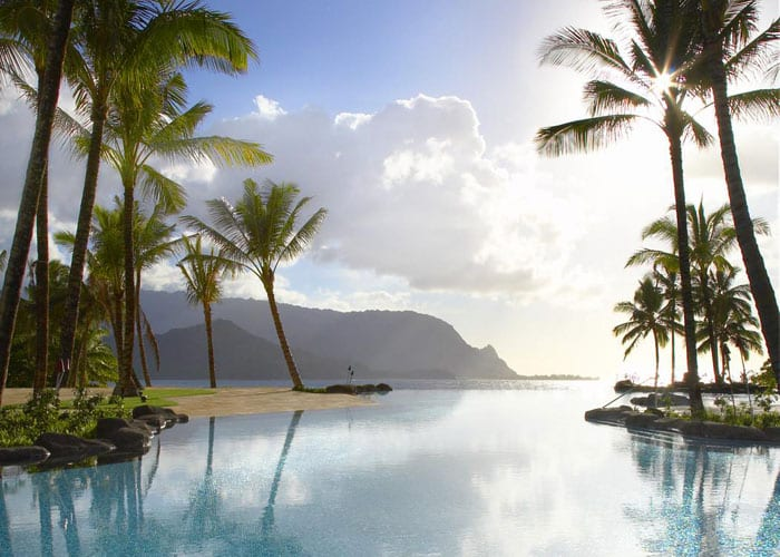 St. Regis Princeville, Kauai, Hanalei Bay