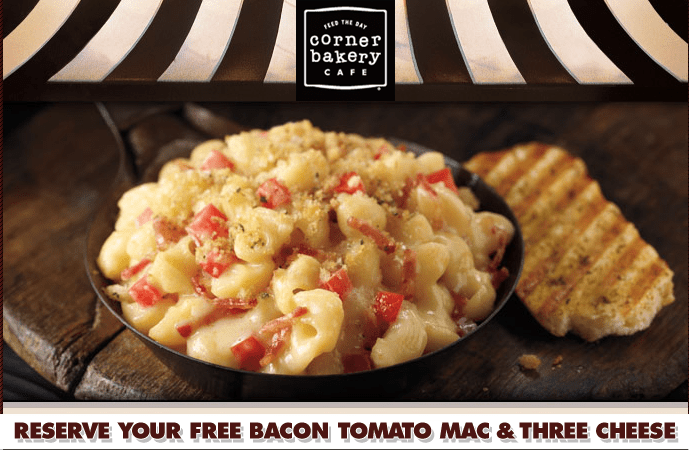 Get Your FREE Mac and Cheese Reservation Now!