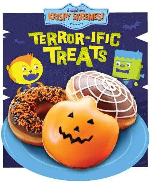 Krispy Kreme Free Doughnut for Halloween