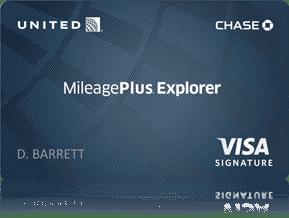 The United MileagePlus Rewards Card