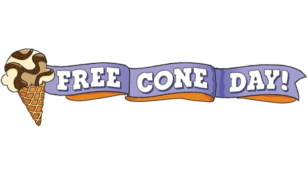 Free Cone Day at Ben & Jerry's on Tuesday 4/9!