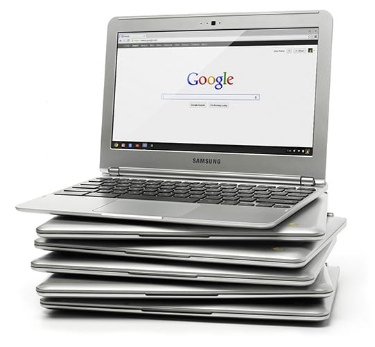 Enter to WIN a Samsung Chromebook!