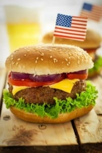 4th of July Burger