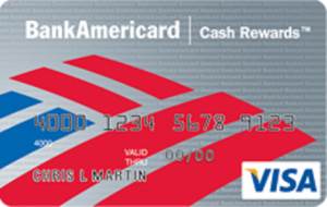 BankAmericard Cash Rewards Credit Card for Students