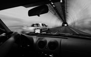 Rental Car Interior