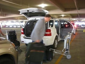 Rental Car Return