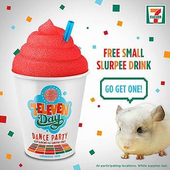 Free Slurpee Day at 7-Eleven