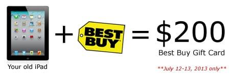 iPad Trade In Program at Best Buy