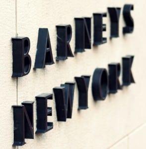 Barney's New York Store Front logo