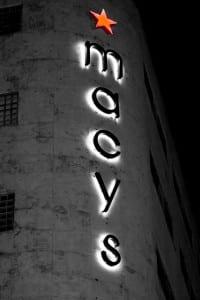 Macy's Store Vertical Logo