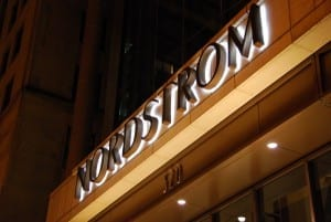 Nordstrom Store Front Logo