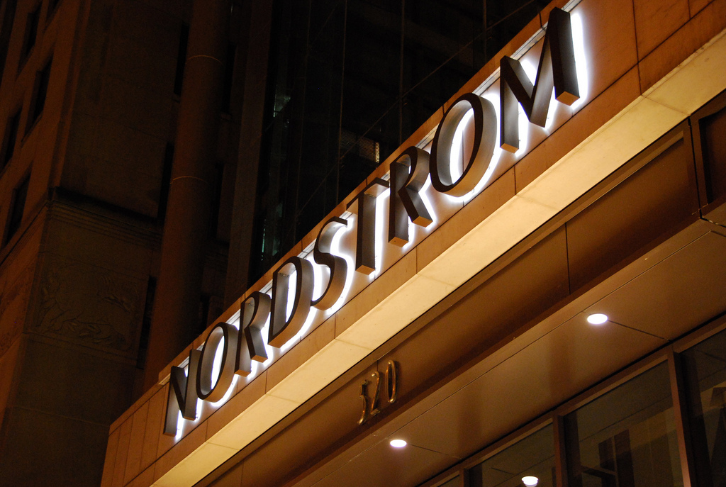Nordstrom Store Front Logo