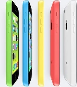 iPhone 5C all colors