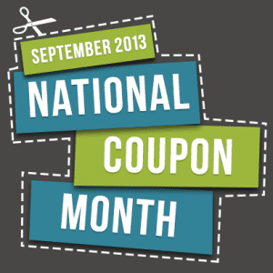 Brad's Deals September 2013 National Coupon Month
