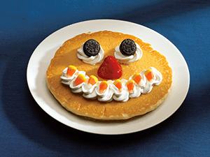 IHOP free scary face pancake