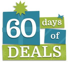 Brad's 4th Annual 60 Days of Deals
