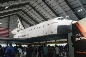 Space Shuttle Endeavour Los Angeles