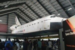 Space Shuttle Endeavour Los Angeles