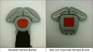 Recalled Graco Harness Buckle Photo
