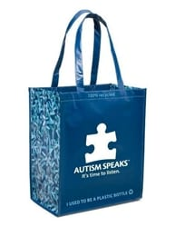 Autism Speaks Tote Bag