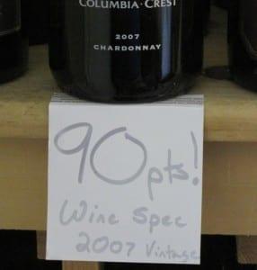 How wine scoring works