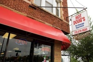 Hot Doug's in Chicago
