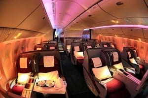Using Miles to Fly Business Class