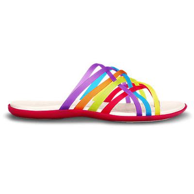 Crocs Rainbow Flip Flops