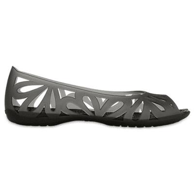 Crocs Peep Toe Flats