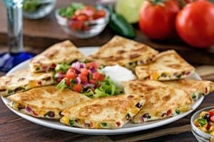 Chili's Santa Fe Quesadillas