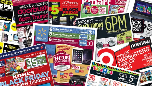 Black friday ads cover