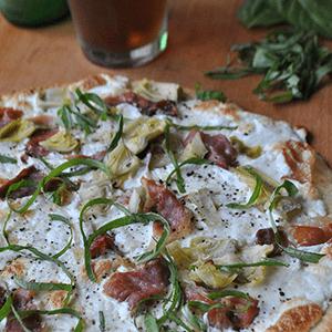 Prociutto and Artichoke Pizza Recipe