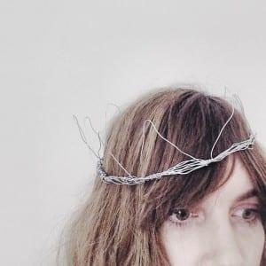 brittany wire crown